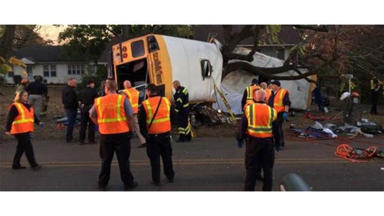 Drugs, Alcohol Not Involved In Bus Crash