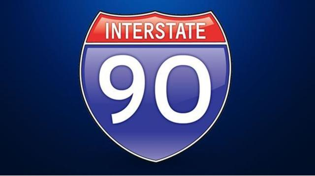 Interstate 90 Closed From Murdo To Mitchell