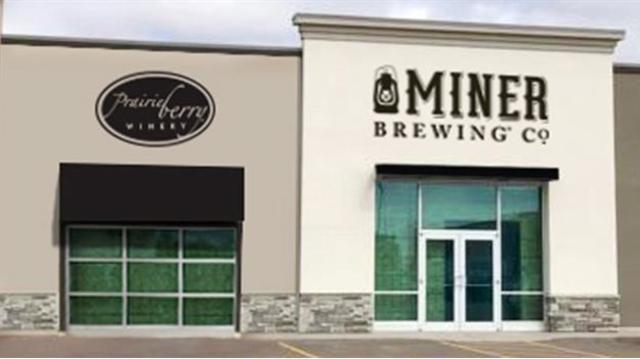 Miner Brewing Company & Prairie Berry Winery Taproom Opens