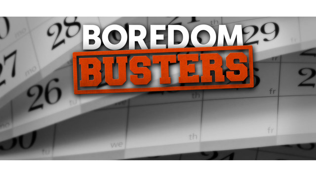 Sunday Boredom Busters: July 1st