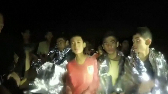 The Latest: Boys May Be Taken Out Of Thai Cave In Stages