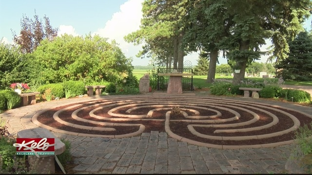 Healing Garden Crucifix Damaged In Dell Rapids