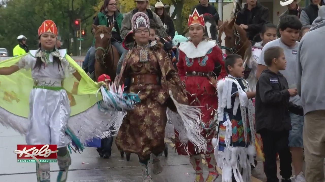 sioux falls holds first native american day parade