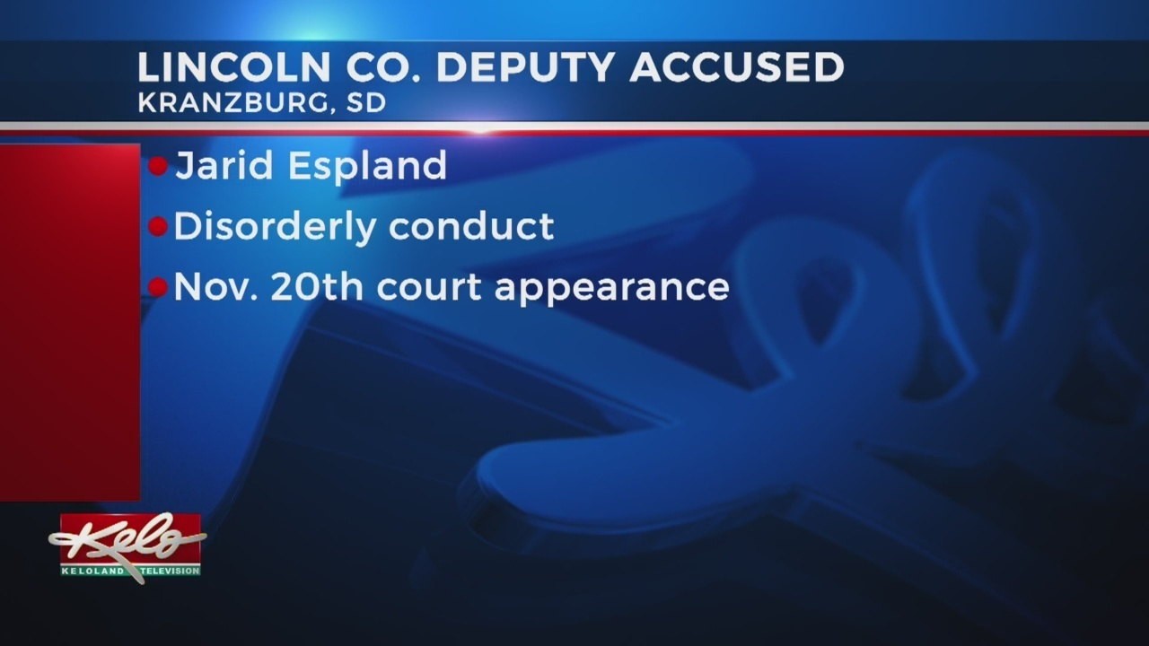 Keloland Auto Mall >> Lincoln County Sheriff's Deputy Facing Disorderly Conduct Charges