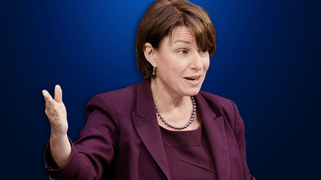 Klobuchar Pledges To 'Lead From The Heart'