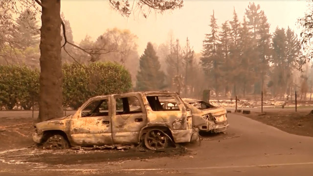 Deadly Northern California Fire Grows Overnight