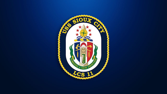 Navy Commissions USS Sioux City Into Service