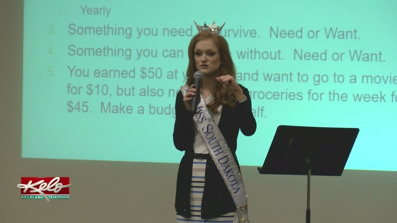 Keloland Auto Mall >> Miss South Dakota 2018 Introduces 'Money $heep' To Sixth Graders