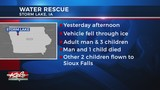 Man, Child Dead After Vehicle Falls Through Ice In Storm Lake, Iowa