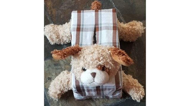 ushare Made with one of dads old dress shirts and parts of a stuffed puppy Courtesy Rachel Woods_1550174798454.jpg.jpg
