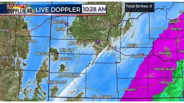 Kelo Weather Map.March 13 14 2019 Winter Storm Latest Developments