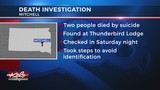 Police: 2 found dead in Mitchell hotel committed suicide