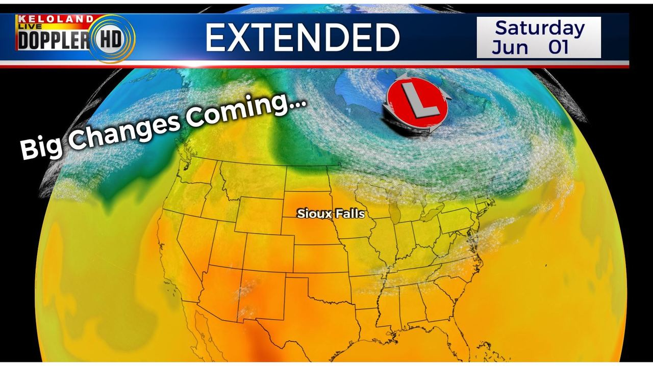 Drier weather ahead for KELOLAND?