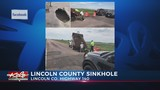Sinkhole in Lincoln County
