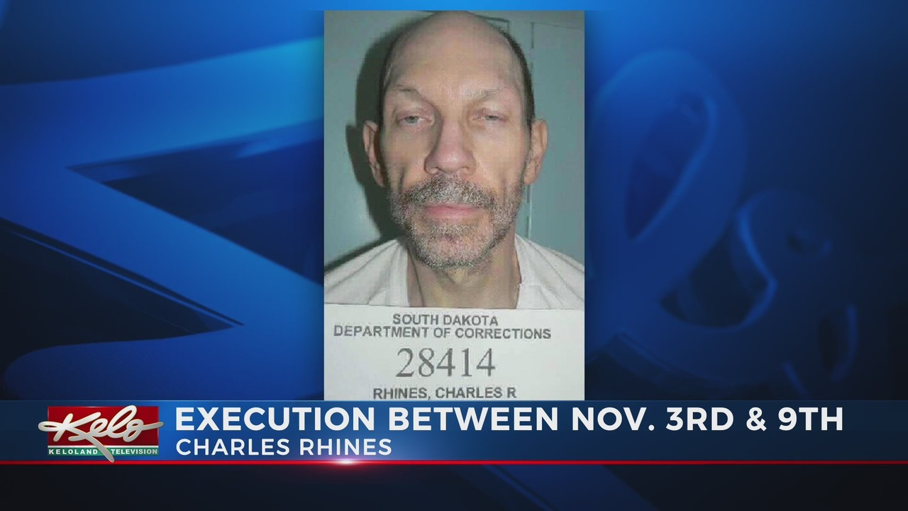 Charles Rhines scheduled to be executed in November