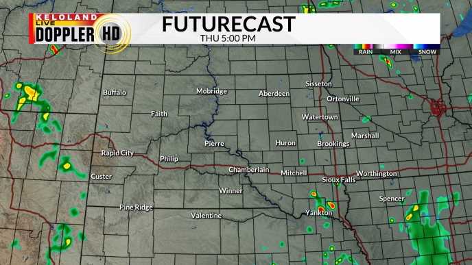 Kelo Weather Map.Weather